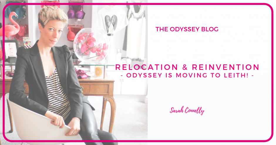Odyssey Owner Sarah Connelly - Odyssey is moving to Leith