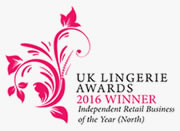 UK Lingerie Awards Winner, Odyssey Boutique - Independent Retailer of the Year (North) 2016