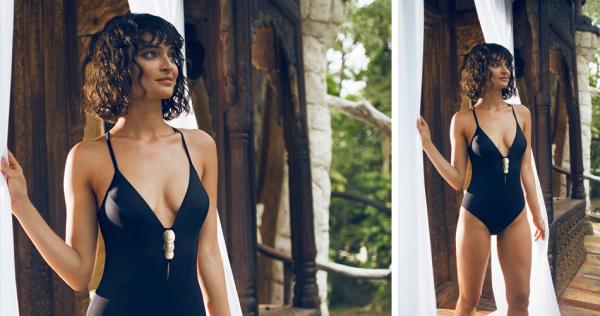Odyssey Boutique Swimwear, Simone Perele Moon Black 1-Piece Swimsuit