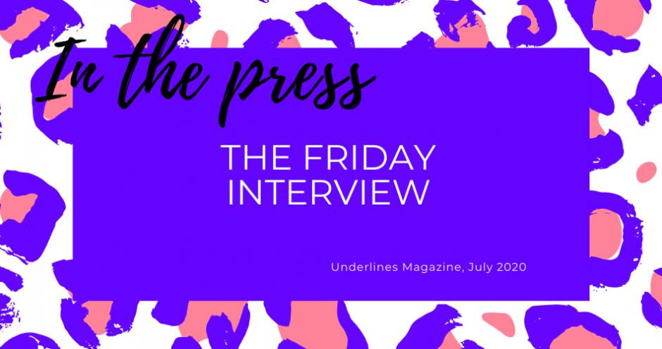 Underlines lingerie magazine - leopard graphic