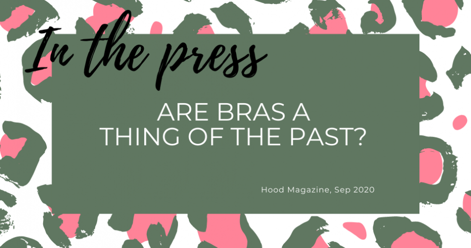 Are bras a thing of the past - In the press leopard graphic