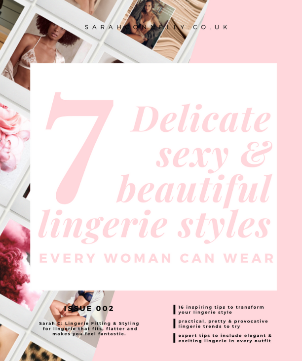 7 Lingerie styles look-book cover